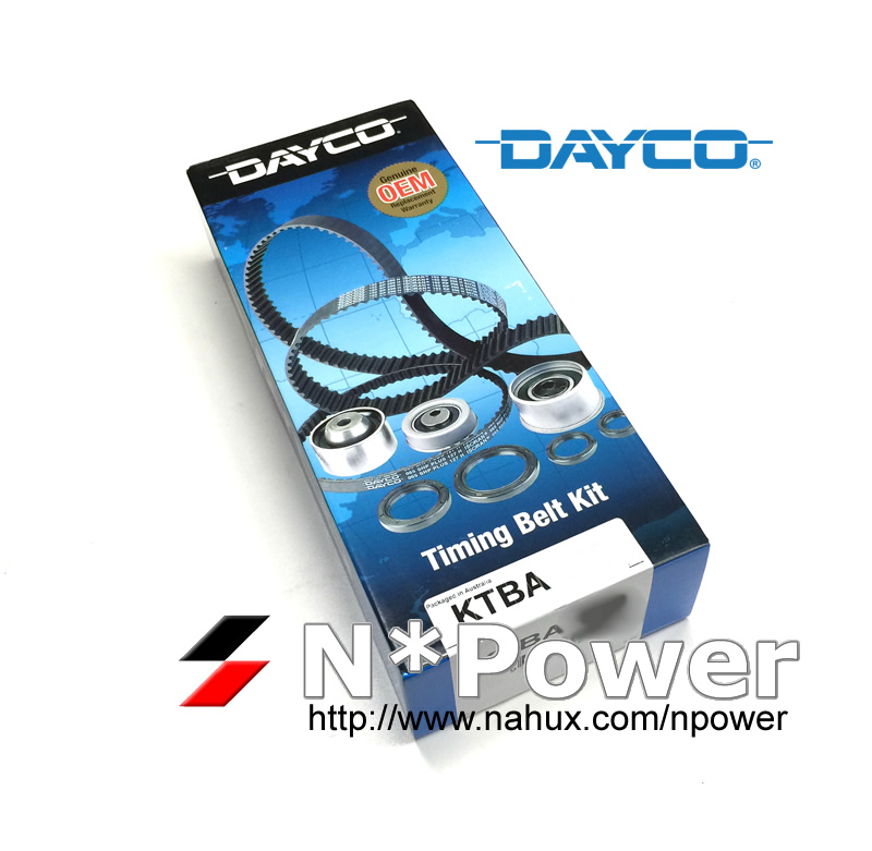 Dayco Timing Kit Inc Hydraulic Tensioner FORD PROBE 2.5 ST